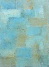 Marmor, Teer mit Acryl auf Karton, 04.2018 30cm x 39 cm, mit Rahmen 40cm x 50 cm
