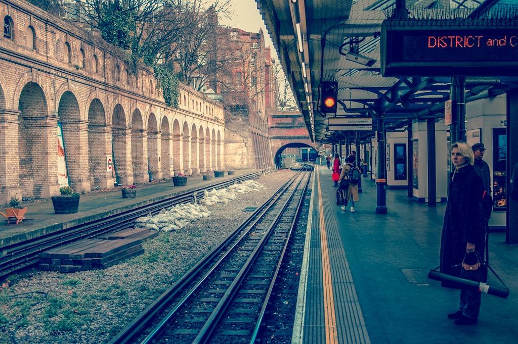 Underground station   London
