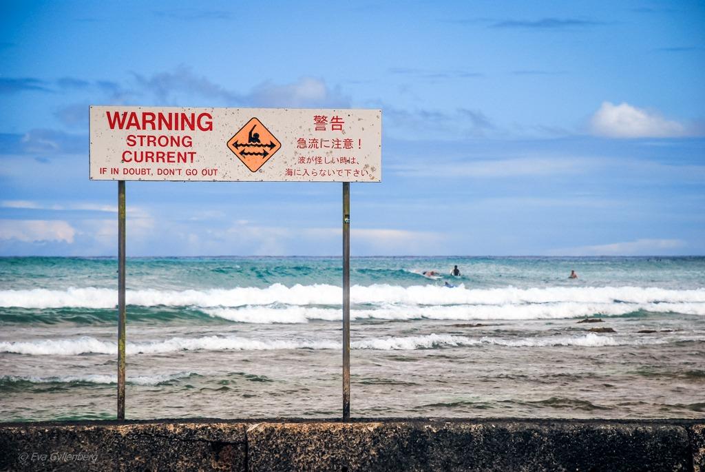 Currents - Waikiki Beach - Hawaii