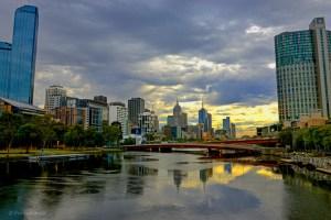 Summer morning in Melbourne