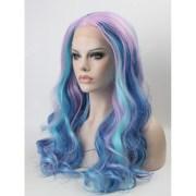 beautiful pastel mixed color wavy