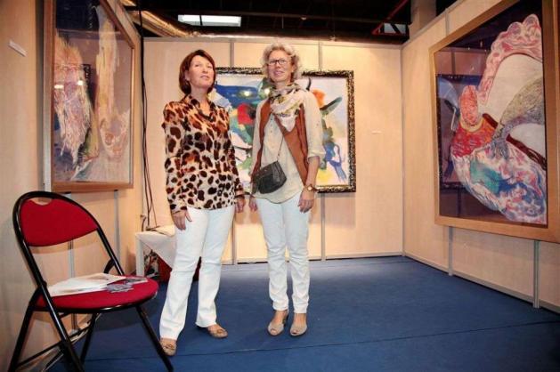 Avec Marina Picasso, Cannes