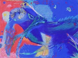 Dériver de l'aigle bleu