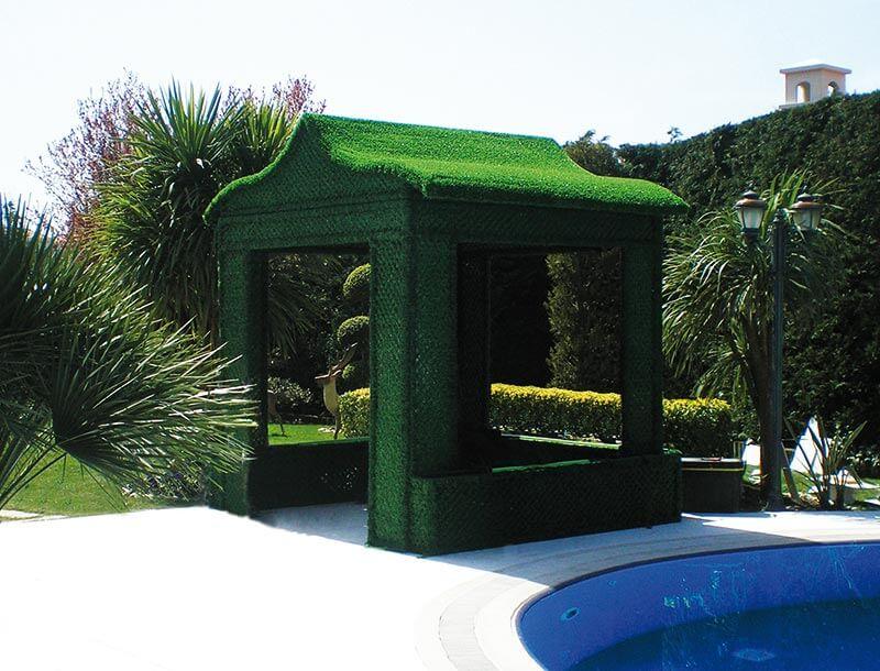 grass fence decoration garden