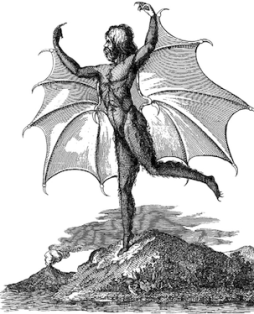 uomo pipistrello