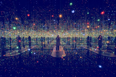 Infinity Mirrored Room - Courtesy Rebecca Dale Photography