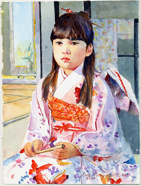 Japanese-girl by Eva Margueriette