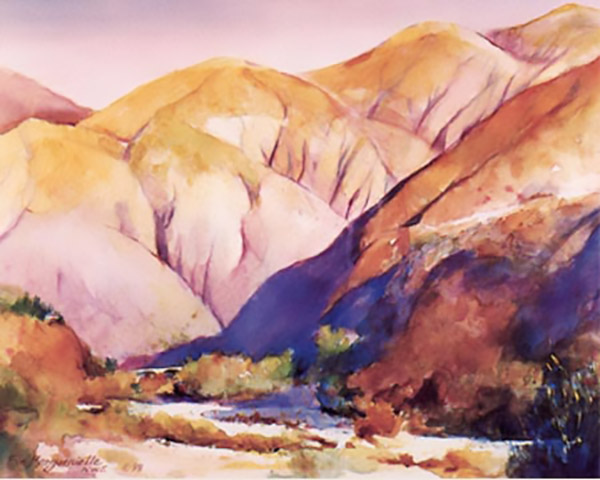 Eaton Canyon Sunrise by Eva Margueriette