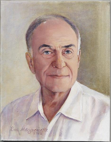 Eva Margueriette pastel portrait