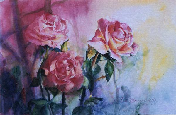 rose-garden by Eva Margueriette