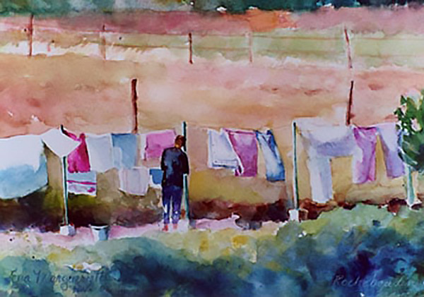 washing day in Provence