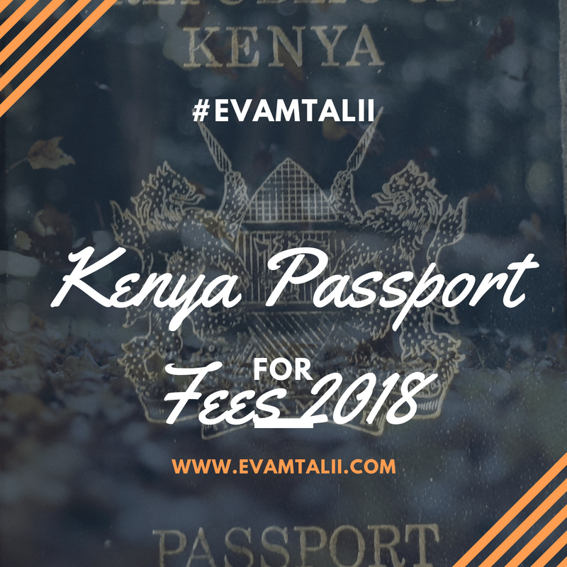 How to Apply for Kenyan Passport in e-Citizen 2019 -