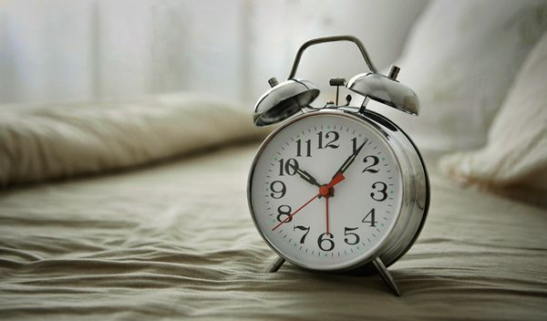 Acuéstate más temprano