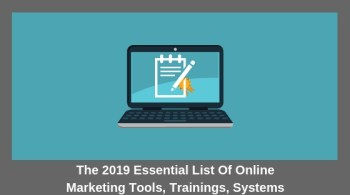 2019 Online Marketing Tools List