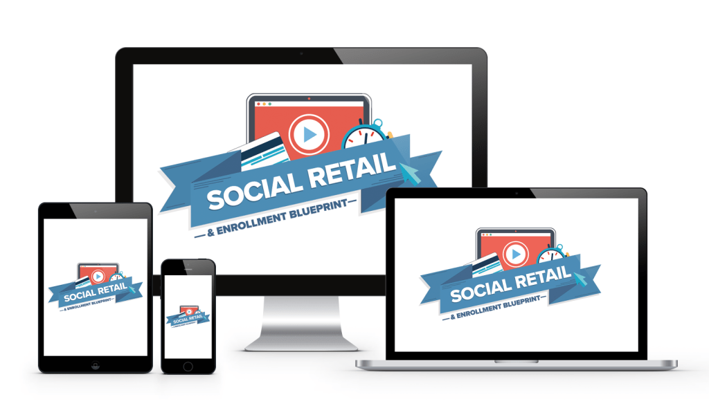social retail blueprint logo