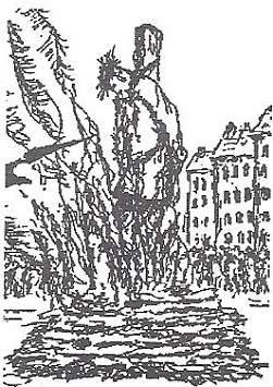 Michael Servetus burned at the stake