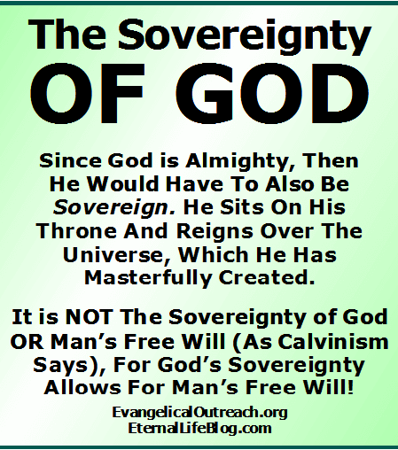 God's Sovereignty and Man's Free Will in Salvation