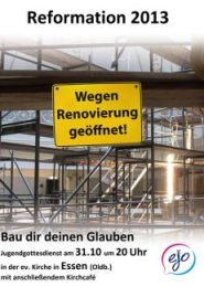 13 Reform-Plakat