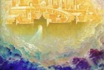 Lectura del libro del Apocalipsis según San Juan: 21,10-14, 22-23.  Domingo 9 de Mayo 2010