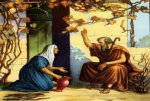 Meditación sobre el pasaje de 1 Re 17, 7-24: La viuda de Sarepta. Por Raquel Azcul.