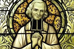 Celebramos al patrón de los sacerdotes: Juan María Vianney: Santo cura de Ars.