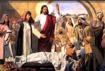 Evangelio San Lucas 7,11-17. Martes 13 de Septiembre de 2011.