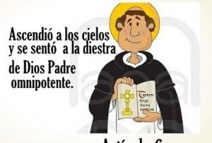 El credo comentado: Artículo 6: Ascendió a los cielos y se sentó a la derecha de Dios Padre omnipotente. Audio mp3