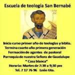 La parroquia de nuestra Señora de Guadalupe «Casa blanca» inicia clases en su escuela de teología y biblia San Bernabé.
