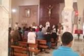 Gran despedida  para el Padre Ismael Hernández Ramírez por los grupos apostólicos.