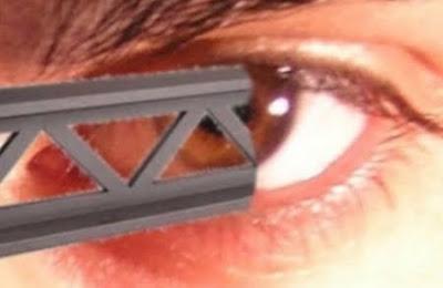 la viga en el ojo ajeno