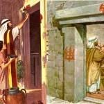 1a lect Del libro del Éxodo 12,1-8.11-14. Jueves 13 de Abril de 2017. JUEVES SANTO.