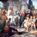 ¿Quién se atreve a poner su ramo a los pies de Jesús? Mt 21, 8-11
