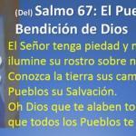 Salmo 66 (67), 1-8. Miércoles 10 de Mayo de 2017. Día de las Madres.