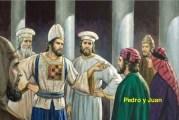 Del libro de los Hechos de los Apóstoles 4,1-12. Viernes 9 de Abril de 2021.