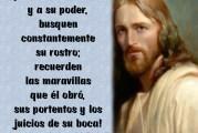 Salmo 104,1-9. Miércoles 7 de Abril de 2021.