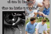 2a lect de la 1a C de San Juan 3,18-24. Domingo 2 de Mayo de 2021.