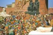 Del libro del Éxodo 12,37-42. Sábado 17 de Julio de 2021. Misa de Santa María Virgen.