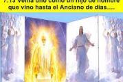 Del libro del Profeta Daniel 7,9-10.13-14. Miércoles 29 de Septiembre de 2021.  Fiesta  Santos Arcángeles Miguel, Gabriel y Rafael.