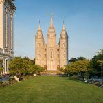 Mormon temple, Utah