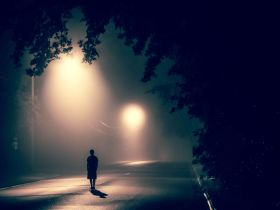 lonely person