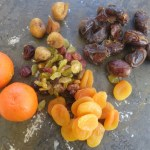 Sephardi Haroset dried fruit and citrus