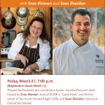 Passover PopUp with Evan Kleiman