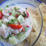 Black Cod Ceviche with Coconut Milk