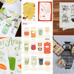 Round up of good kitchen towels for gifts