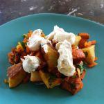 Yam and Russet Potato Salad