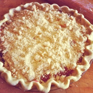 pie-a-day, Peach Pie, kcrw