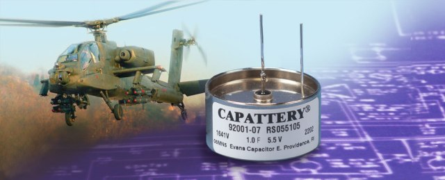 Evans Capacitor Company Capattery SH Series Capacitors