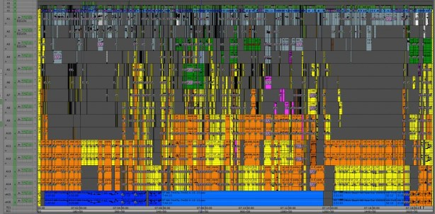 Surround Sound Mixing on a Feature film