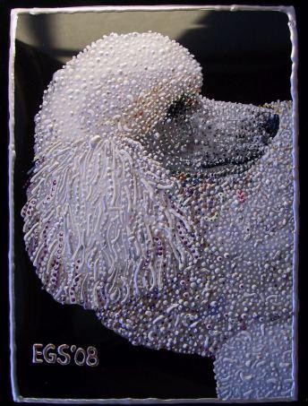 Pet Portrait - Lola 4 by E.G.Silberman, 2008
