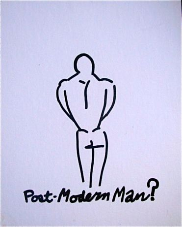 Post-Modern Man? by Evan Silberman NYC - '98